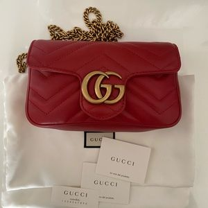 Gucci Supermini Matelassé Shoulder Bag